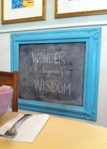 wonder wisdom board