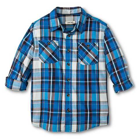 plaid boys shirt