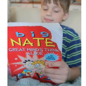 Big Nate Red cover