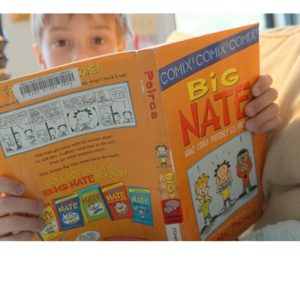 Big Nate yellow cover