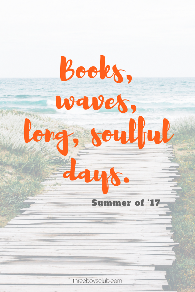 books, waves, long, soulful days (1)